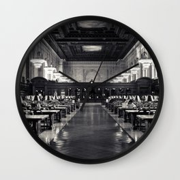 The New York Public Library Rose Reading Room Wall Clock