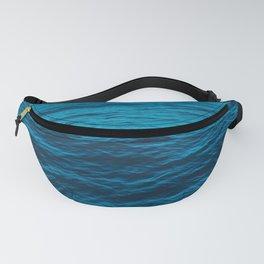 water surface, Blue ocean waves - deep blue sea Fanny Pack