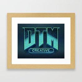 DTM-DOOM Framed Art Print