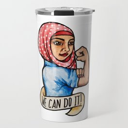 We can do it Rosie the Riveter Travel Mug