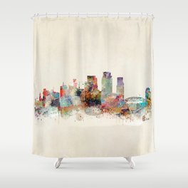 corpus christi texas Shower Curtain