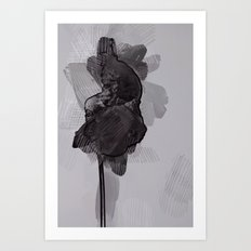 leaf two Art Print