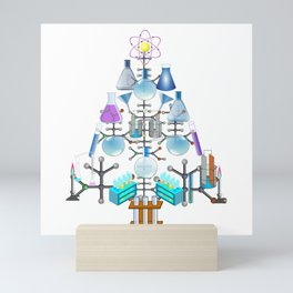 Oh Chemistry, Oh Chemist Tree Mini Art Print