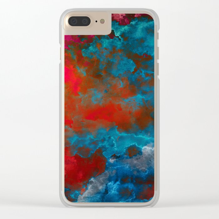 Deep Space Clear iPhone Case