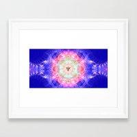 portal 2 Framed Art Prints featuring Merkaba Portal by AC DESIGNS