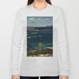 The Harbor, Monhegan Coast, Maine, 1913 Long Sleeve T-shirt