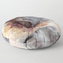 Citrine & Feathers Floor Pillow