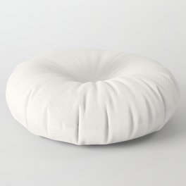 Sherwin Williams Trending Colors of 2019 Origami White (Off White) SW 7636 Solid Color Floor Pillow