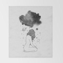 I prefer night. Throw Blanket