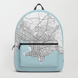 Montevideo, Uruguay City Map - Circle Backpack