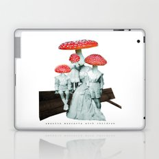 amanita muscaria with children Laptop & iPad Skin