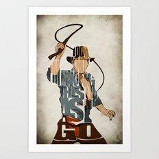 Indie Art Print