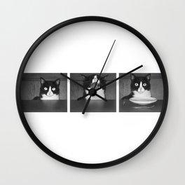 cat III Wall Clock