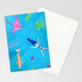 Ocean Relaxation in a Tropical Bliss Stationery Cards
