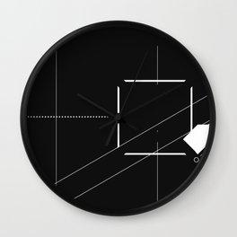 RIM BENEATH Wall Clock