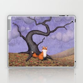 the rainy fox Laptop & iPad Skin