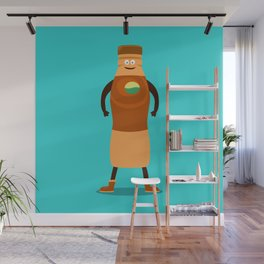 Colored Milk Wall Mural