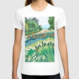 Solo Walk #illustration #nature T-shirt