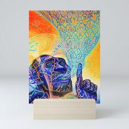 alex the color is grey homo sapiens tour dates 2021 manahan Mini Art Print
