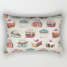 Happy Baker Rectangular Pillow
