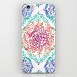 Indian Ink - Rainbow version iPhone Skin