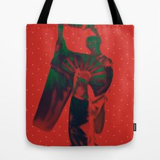 Geisha Snow Tote Bag