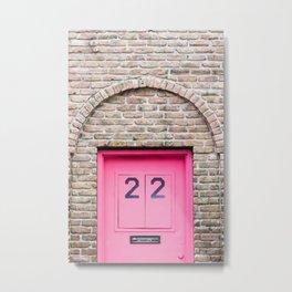 Door Number 22 Metal Print