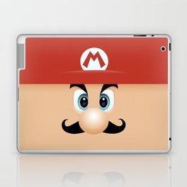 Mario With Cool Mustache Laptop & iPad Skin