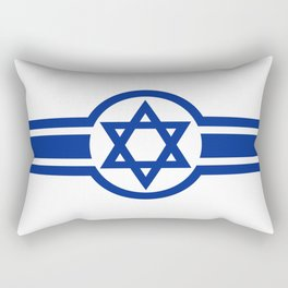 Eastern Israeli Belt Flag for the area of East of Israel Rectangular Pillow