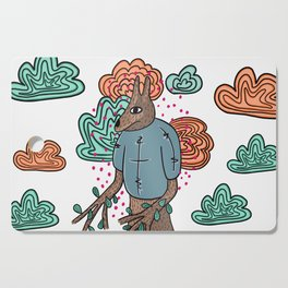 Tree animal Cutting Board