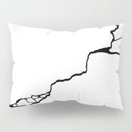 Diagonal Destroyed Light Pillow Sham