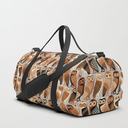 Owls of Athens Duffle Bag