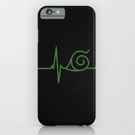 Clan Heartbeat iPhone Case