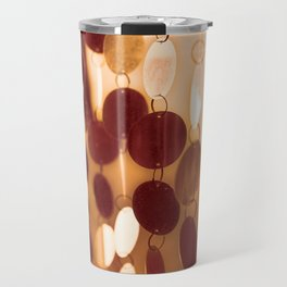 GLAM CIRCLES #Orange #1 Travel Mug