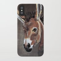 donkey iPhone & iPod Cases featuring Donkey by albinosquid
