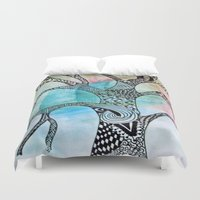 twilight Duvet Covers featuring Twilight by neena