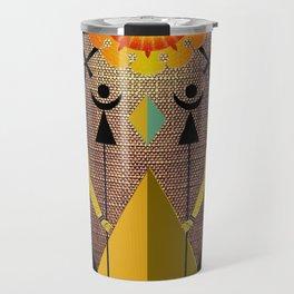 Hathor under the eyes of Ra -Egyptian Gods and Goddesses Travel Mug