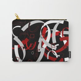 Simple Abstract Carry-All Pouch