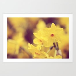 Happy Spring  - JUSTART © Art Print