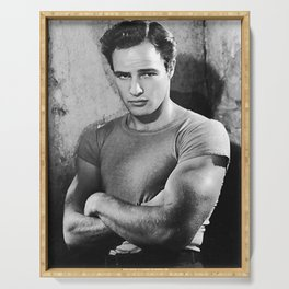 Marlon Brando Serving Tray