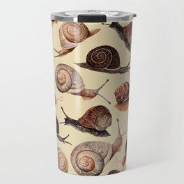 A Slew Of Snails Travel Mug