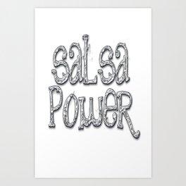 Salsa Chrome Art Print