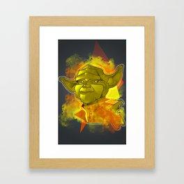 Yodalistic! Framed Art Print