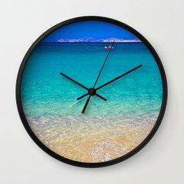 Crete Wall Clock