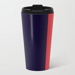 Navy Racer Travel Mug