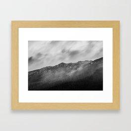 Alpine Mist Framed Art Print