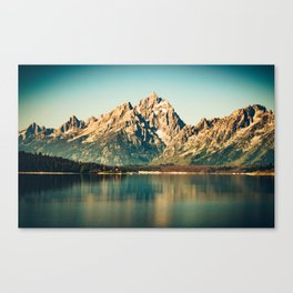 Mountain Lake Escape Canvas Print