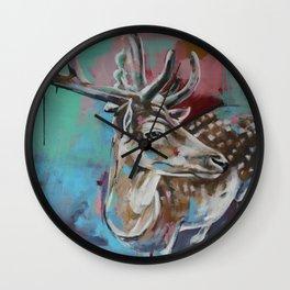 In headlights Wall Clock
