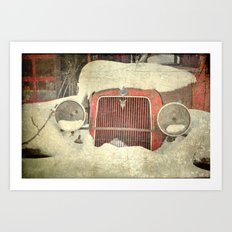 Ford in Winter Art Print