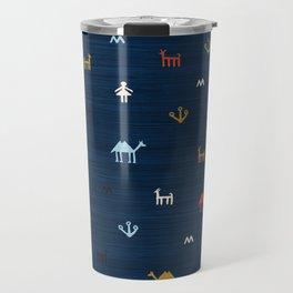 Jarmo in Blue Travel Mug